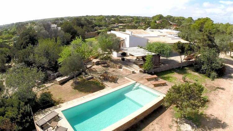 Villa di lusso a Formentera con piscina per 8 persone, design speciale