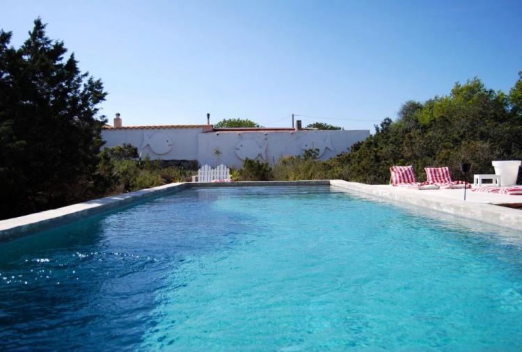 Esclusiva villa in Formentera situata a meno di 1 km dalla spiaggia di Migjorn