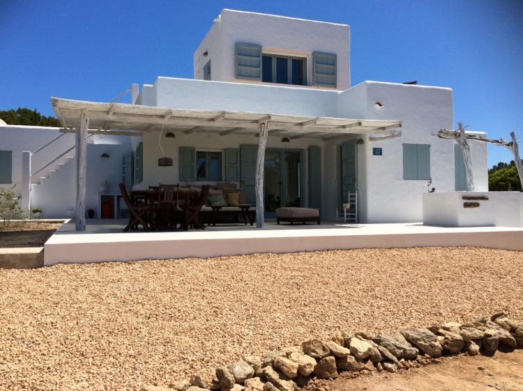 Bella villa a Formentera ideale per una famiglia con bambini o amici