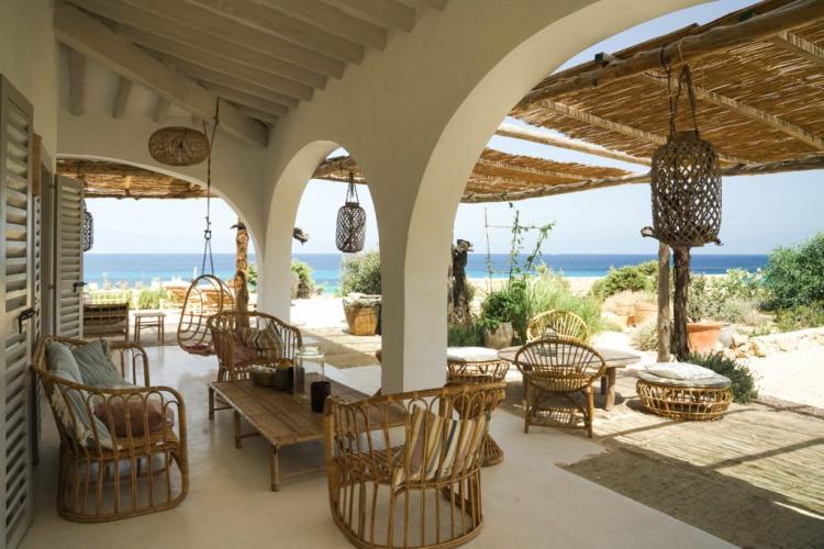 Villa a Formentera con viste indimenticabili sul mare
