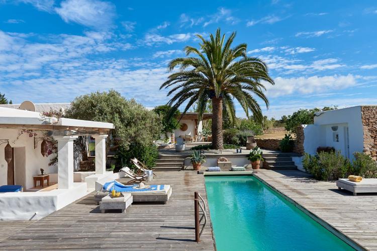 Bella villa a Formentera, un angolo di paradiso