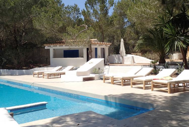 Villa a Formentera immersa in una posizione idilliaca sulla spiaggia di Migjorn