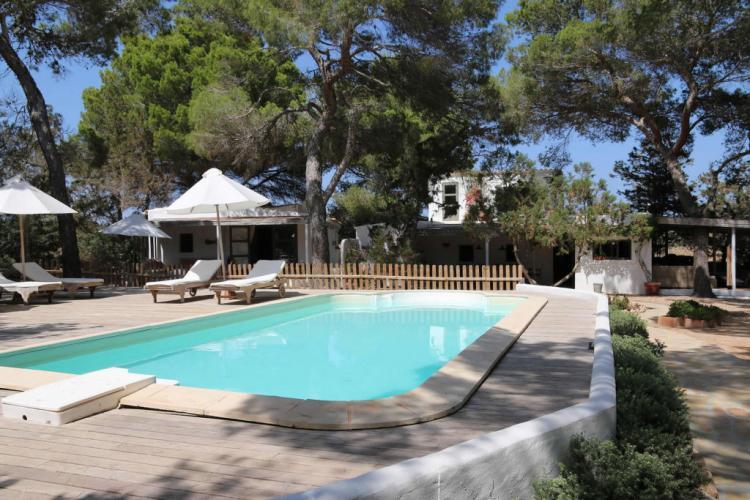 Intima e rilassante villa a Formentera, spiaggia Migjorn